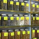 čínské bylinné léky — Stock fotografie