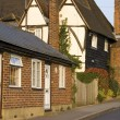 Typical English Village House - Stock Photo
