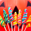 Twisted Candy For Halloween — Stock Photo #6494773