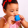 Stock Photo: Play Acting With Toy Cup