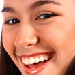 Pretty Teenager Smiling And Laughing — Stock Photo