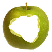 An Apple A Day For Health — Stock Photo