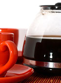 A Fresh Cup Of Brewed Coffee — Stock Photo