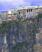 Houses In A Precarious Situation Due To Erosion — Stock Photo