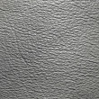 Grey leather texture - Stock Photo