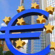 Euro-sign — Stock Photo #5735230
