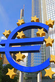 Euro-sign — Stock Photo