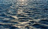 Texture di mare profondo con riflessione — Foto Stock