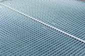 Abstract background of metal plates with frost on it — Stock Photo