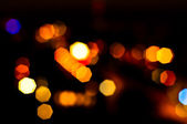 Out of focus lights — Stock Photo