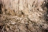 Rock formation inside a cave — Stock Photo