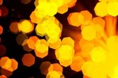 Abstract background of out of focus lights — Stock fotografie