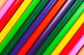 Texture of colored pencils in many colors — Stock Photo