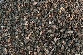 Closeup of black coal lumps — Stock Photo