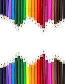 Pitture ad acquerelli, isolati su sfondo bianco — Foto Stock