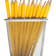 Stock Photo: Pencils in pencil holders