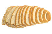 Cut loaf of bread — Stock Photo