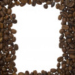 Frame from coffee beans — 图库照片