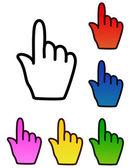 Hand cursor — Stock Vector