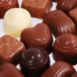 Chocolate pralines — Foto de stock #5784796