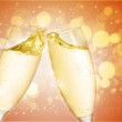Champagne glass — Stock Photo #5785132