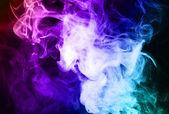 Kouřové pozadí — Stock fotografie