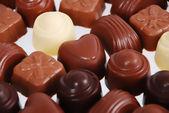 Chocolade pralines — Stockfoto