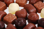 Chocolate pralines — Stockfoto