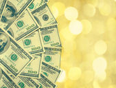 деньги фон — Стоковое фото