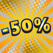 Discount design — Image vectorielle