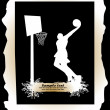 Stock vektor: Basketball player