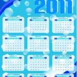 2011 calendar — Stock Vector #5803681