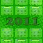 2011 calendar — Stock Vector #5803682