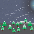 Christmas background — Imagen vectorial