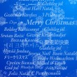 Merry Christmas in thirty-one language — Stockvektor