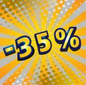 Discount design — Stock Vector