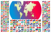 All flags of the world — Stok Vektör