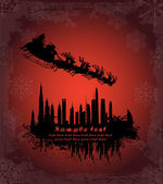 Urban holiday background — Vetorial Stock