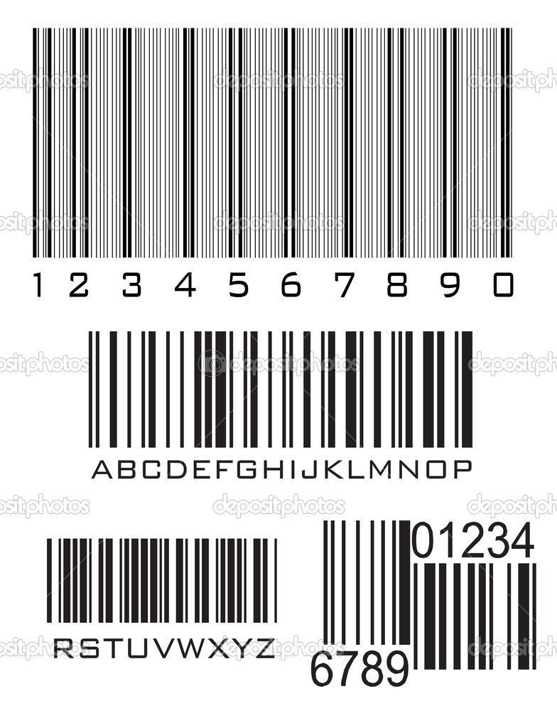 Bar code, vector illustration — Stock Vector #5803652