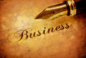 Business background — Foto Stock
