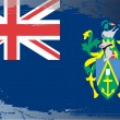 Grunge flag series-Pitcairn Islands — Lizenzfreies Foto