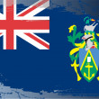Grunge flag series-Pitcairn Islands — Stock Photo