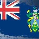 Grunge flag series-Pitcairn Islands — Stock Photo