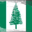 Grunge flag series-Norfolk Island — Stock Photo
