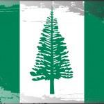 Grunge flag series-Norfolk Island — Stock Photo