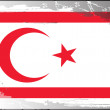 Grunge flag series-Northern Cyprus — Stock Photo