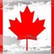 Grunge flag series-Canada — Stock Photo