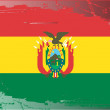 Grunge flag series-Bolivia — Stock Photo