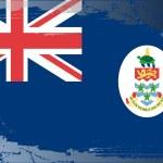 Grunge flag series-Cayman Islands — Stock Photo