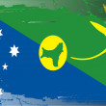 Grunge flag series-Christmas Island — Stock Photo
